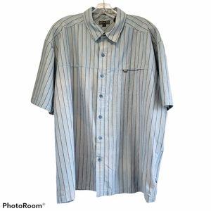 REI men's short sleeve shirt size 3xl